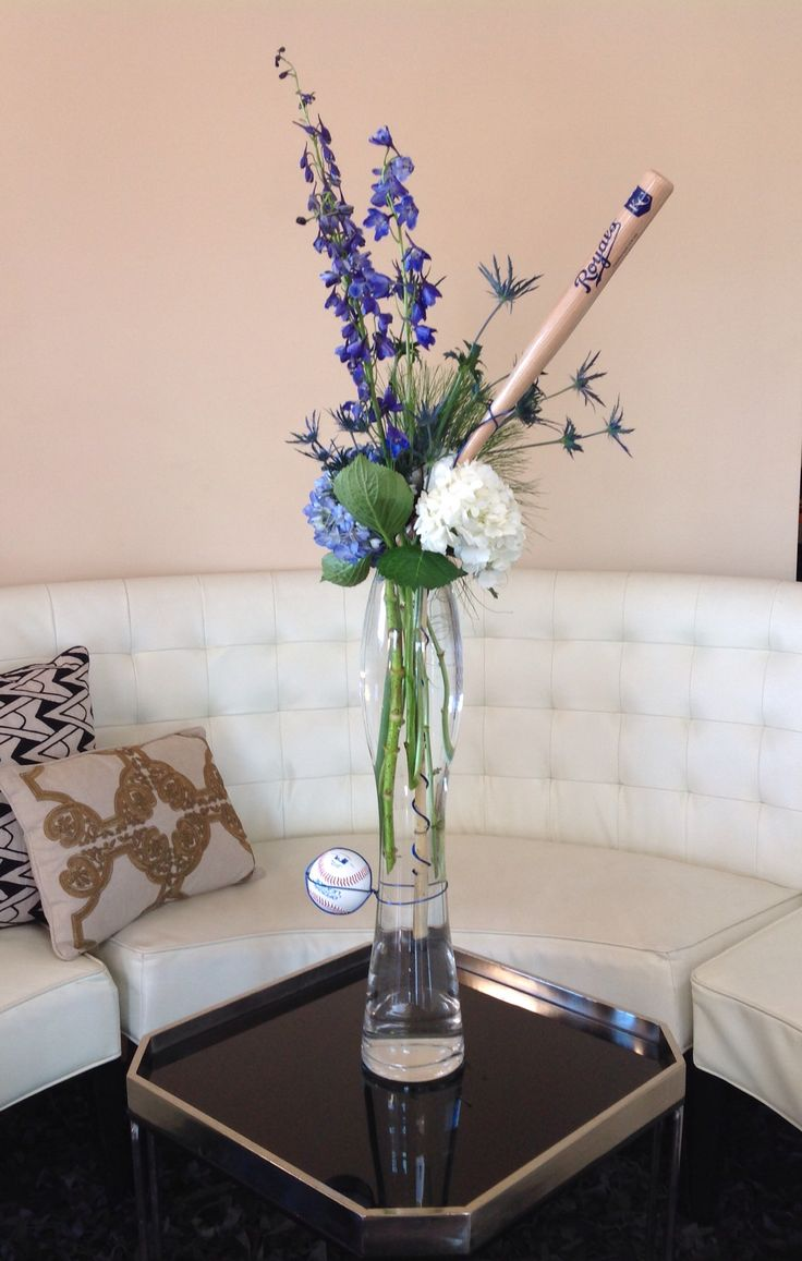 Arrangement we created for a client's office in support of the Royals