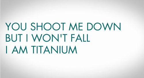 titanium david guetta lyrics - Google Search