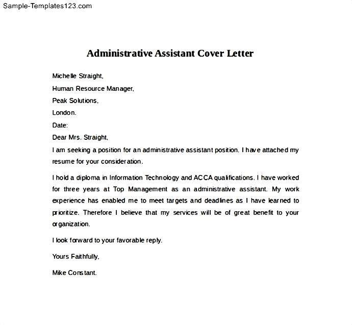 Groß Wiederaufnahme Objektiver Proben Administrativer Assistent ...