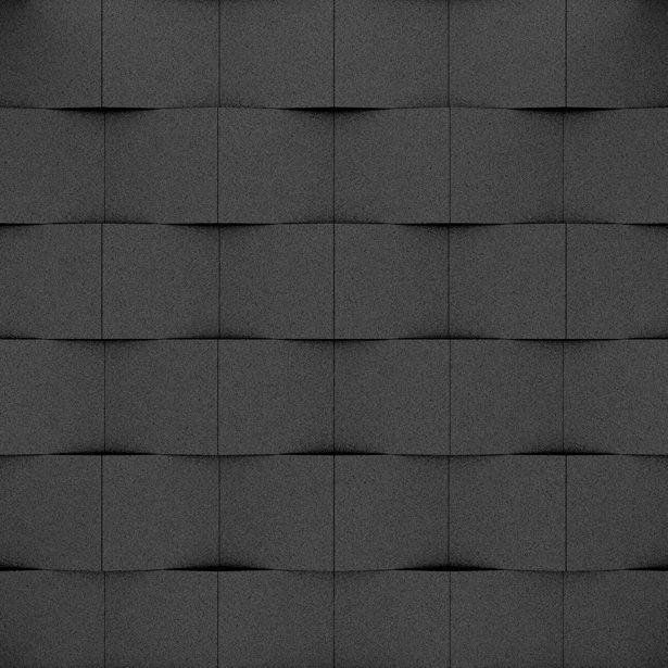 Fluffo, Fabryka Miękkich Ścian. Miękkie panele ścienne 3D, wzór CUBE, opcje ułożenia.
