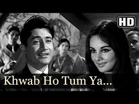Khwaab Ho Tum Ya Koi - Dev Anand - Teen Deviyan - Romantic Old Hindi Songs - Kishore Kumar - YouTube