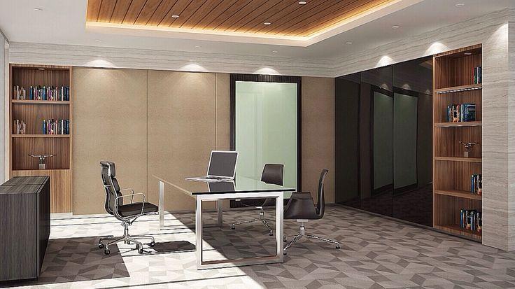 Interior Design   Office Project   Sarana Steel - Director Room