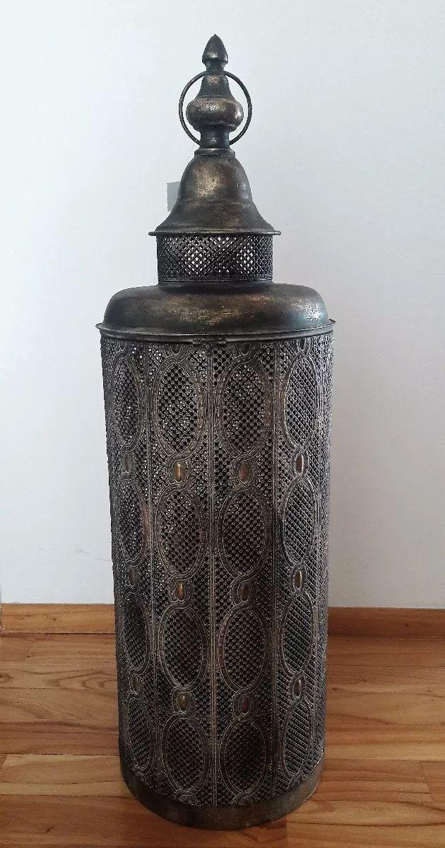 Faroles Fanales Para Velas Estilo Marroqui - 80cm - $ 1.650,00 en Mercado Libre