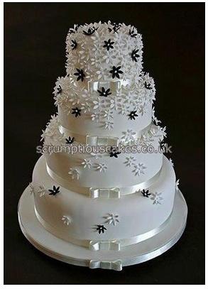 Black And White Cakes Pinterest Cake Wedding Cake