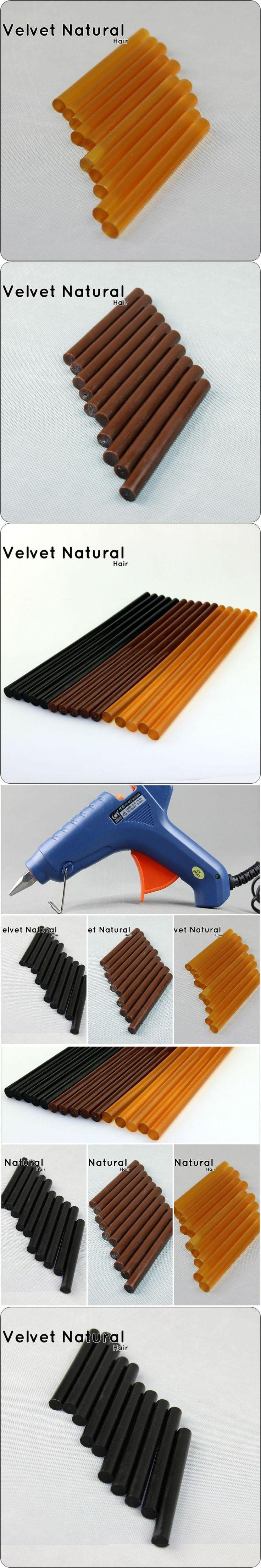 Keratin Glue Sticks 5pc/pack Hot Melt Glue Sticks 120*11mm Professional Hair Tools 3 Colors For Fusion Keratin Hair Extensions
