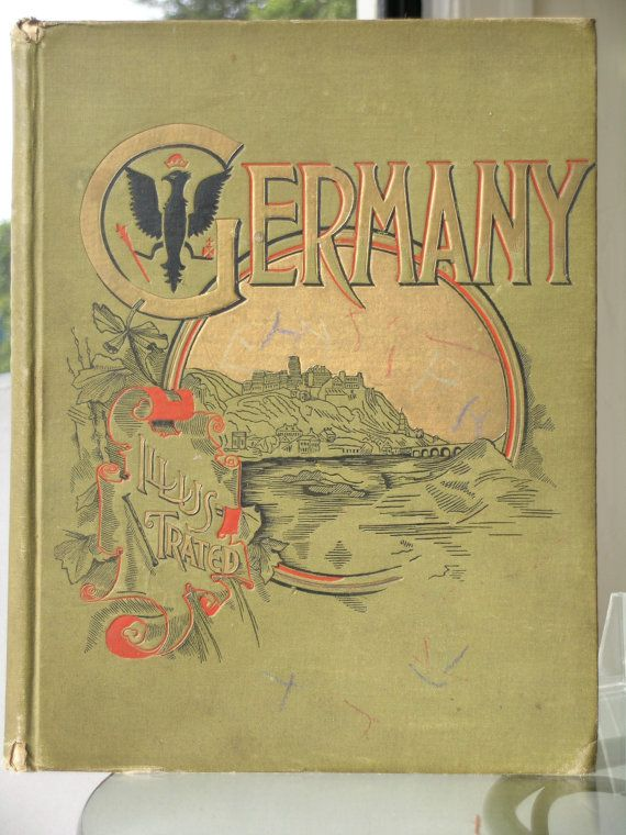 Germany Illustrated with Pen and Pencil 1891 by KathatKreations