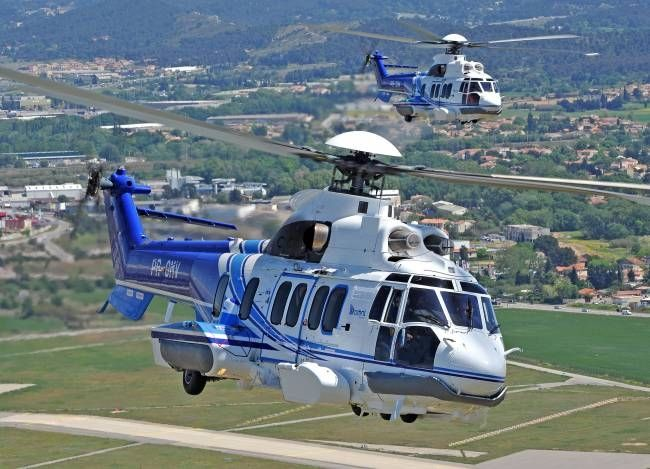 The Eurocopter EC225 Super Puma https://avia-angel.com/helicopters-for-sale/airbus-h225-eurocopter-ec-225/ (now Airbus Helicopters H225) is a long-range passenger transport helicopter developed by Eurocopter as the next generation of the civilian Super Puma family. It is a twin-engined aircraft and can carry up to 24 passengers along with two crew and a cabin attendant, dependent on customer configuration. The helicopter is marketed for offshore support and VIP passenger transport duties, as…