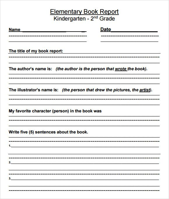 Book report Writing Book report templates, Report template