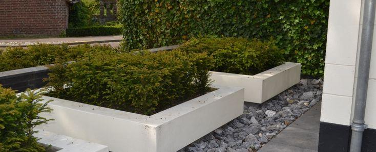 Het Palet tuinontwerp - Moderne voortuin