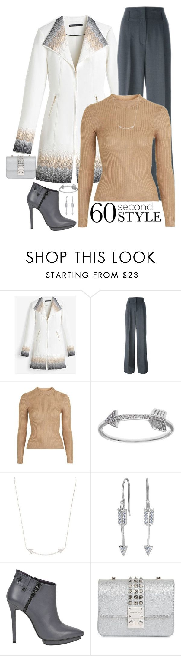 """60 Second Style"" by susan0219 ❤ liked on Polyvore featuring White House Black Market, MICHAEL Michael Kors, Topshop, La Preciosa, Karma Jewels, Marc Ellis, Design Inverso, ombre and 60secondstyle"