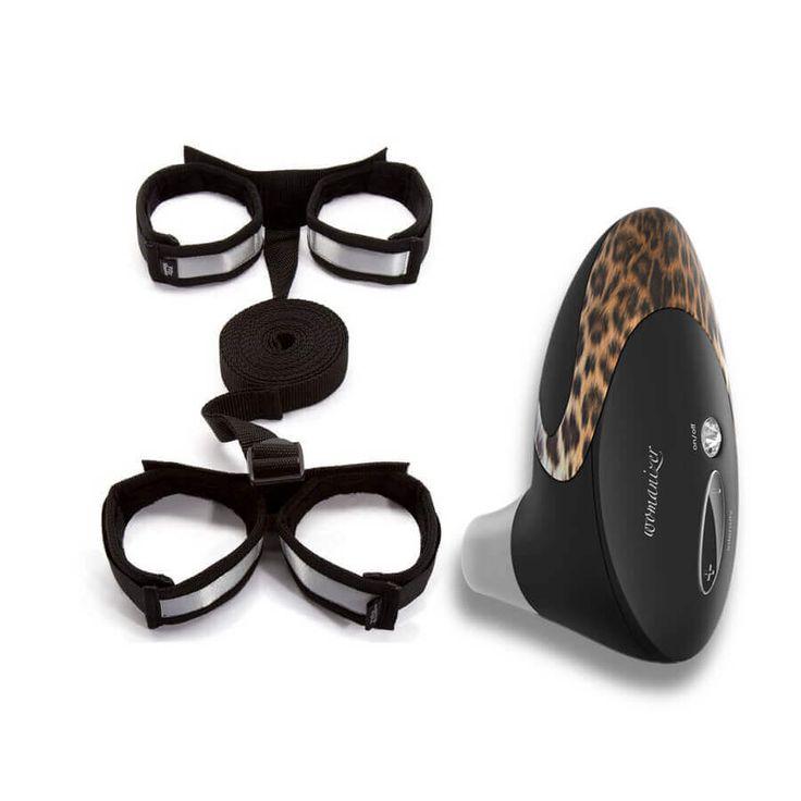 WOMANIZER 50 SOMBRAS DE GREY WOMANIZER 50 SOMBRAS DE GREY.Dos marcas líder en juguetes eróticos Womanizer y 50 Sombras de Grey han creado un cofre especial para regalar.  #WOMANIZER