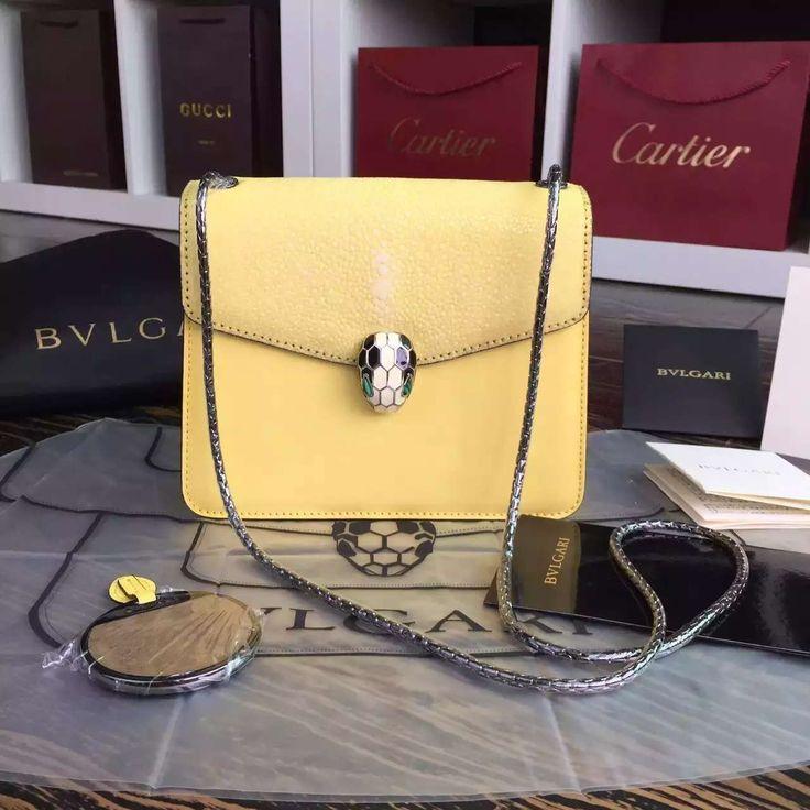 441 best Bvlgari images on Pinterest   Leather handbags, Black ...