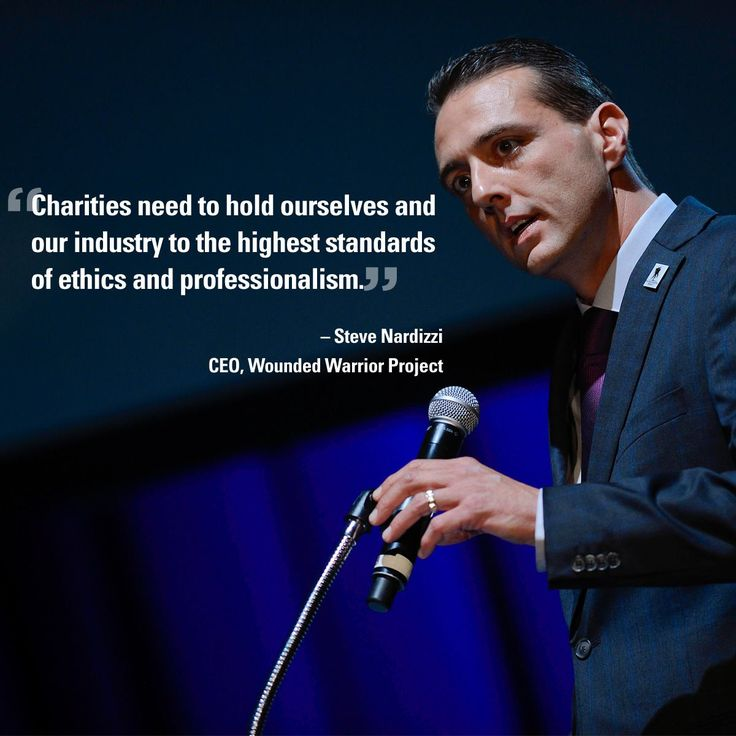 Wounded Warrior Project // CEO Steve Nardizzi explains in