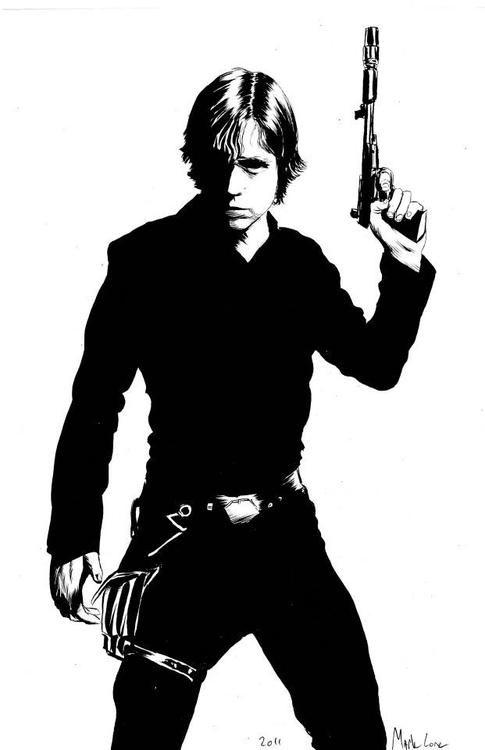 Luke Skywalker Created by Mark Lone