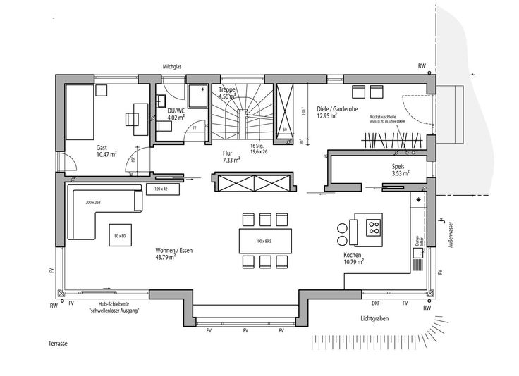 Hauspläne l-form  9 best LUXHAUS | Hauspläne und Grundrisse images on Pinterest ...