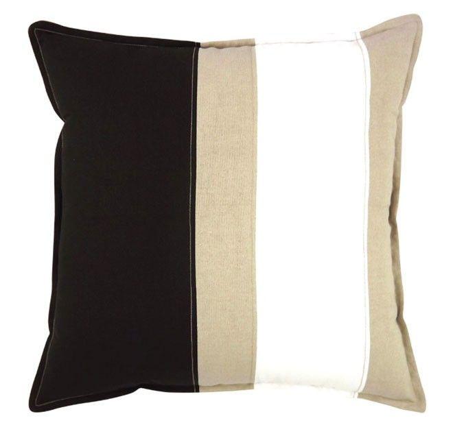 Newport 50x50cm Filled Cushion Black | Manchester Warehouse