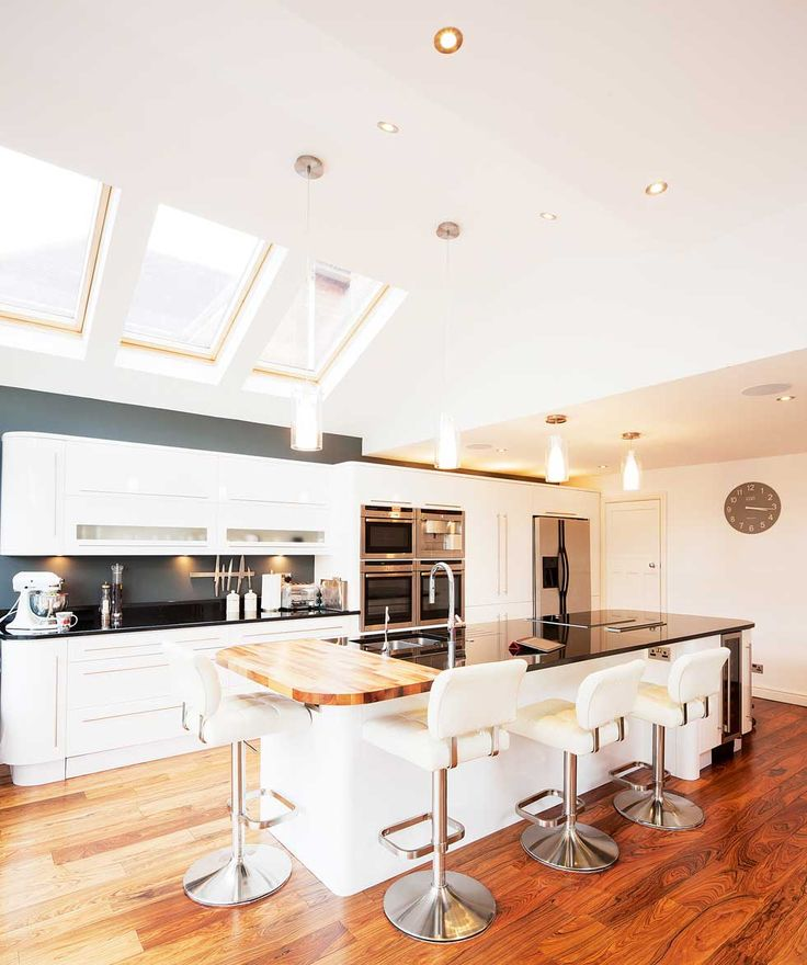 Glazed Kitchen Extension - Homebuilding & Renovating