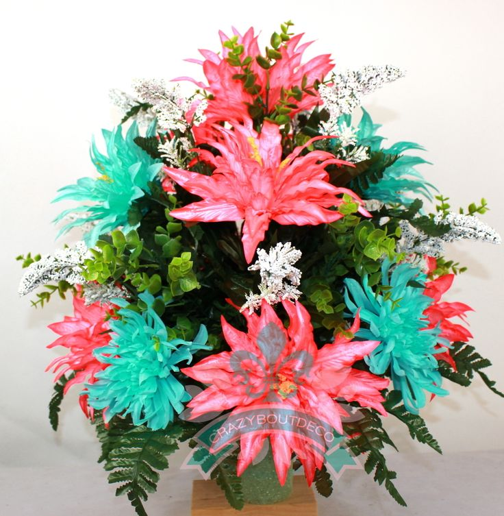 Beautiful Spring Cemetery Flowers for a 3 Inch Vase, $35.99