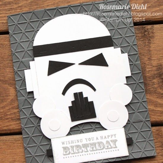 Rose's World: Birthday wishes from a Stormtrooper: