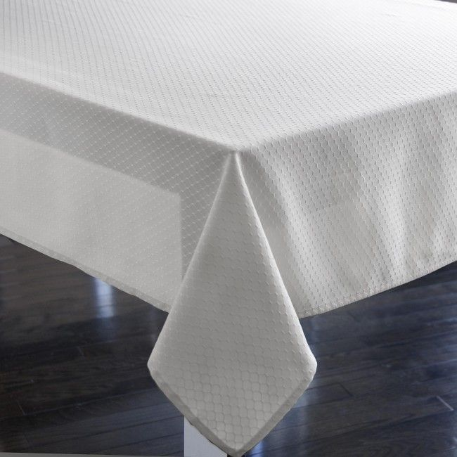 The perfect white tablecloth.