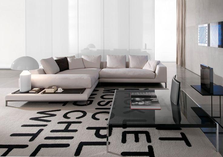 Minotti ipad hamilton islands sofas de sofas for Sectional sofa hamilton