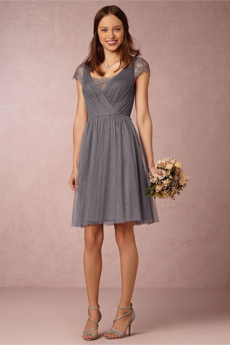 25 cute knee length bridesmaid dresses ideas on pinterest mint maternity bridesmaid dress the latest high quality grey square collar lace back zipper to knee length ombrellifo Choice Image