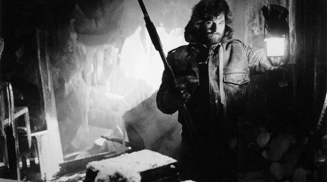 Kurt Russel in John Carpenter's The Thing (1982)
