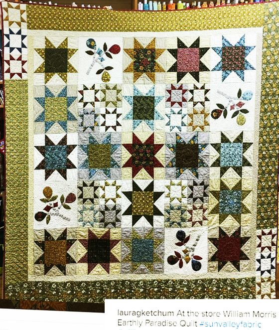 Morris Earthly Paradise at Sun Valley Quilts