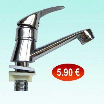 30601192 Επικαθήμενη βρύση νιπτήρα για κρύο νερό 5,90 €-Ευρω