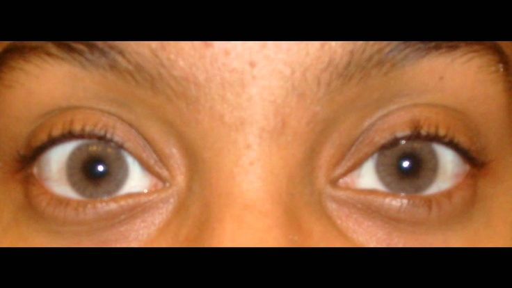 Solotica Hidrocor Ocre Lens On Very Very Dark Eyes