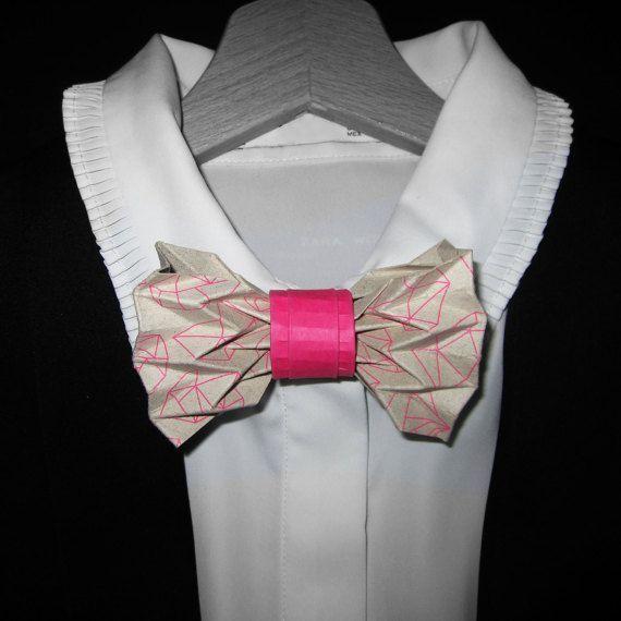 Noeud papillon origami rose imprimé – #imprime #Nœud #origami #papillon #Rose …