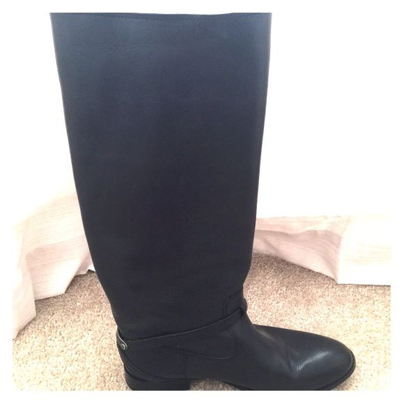 Frye riding boots Worn once size 8.5 black leather Frye riding boots Frye Shoes