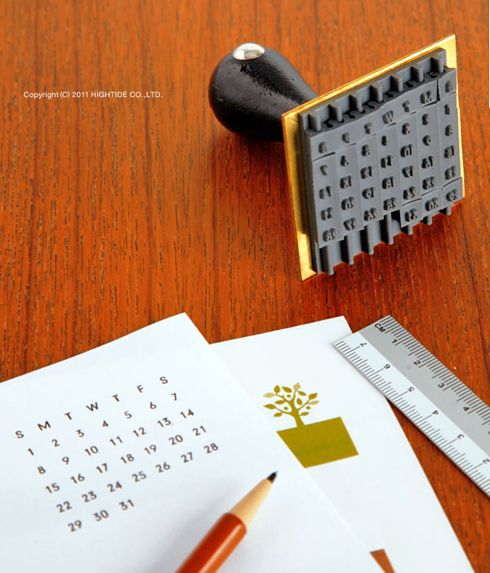calendar stampIdeas, Stamps Gallery, Amazing Stamps, Calender Stamps, Calendar Stamps, Diy, Products, Design, Crafts