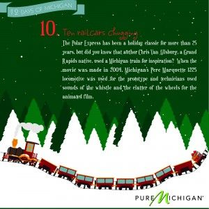 12 Days of Michigan: Day 10: Books Character, Author, Gifts Ideas Too, Christmas Winter, Heart Michigan, Holidays Sweet, Harbor Country, Children Books, Christmas Mixed