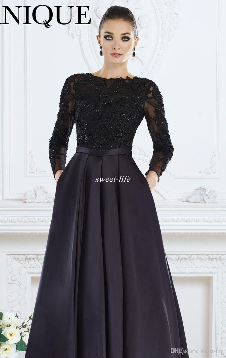 Elegant Gowns with Sleeves