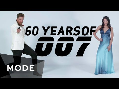 60 Years of James Bond Film Fashion Shown Decade by Decade In a Four Minute Video