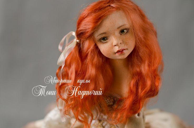 Art doll Marusya by DollsTonyNadtochiy on Etsy