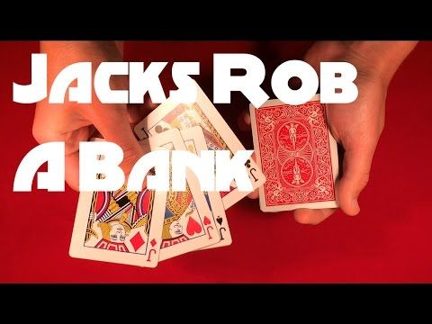 The Jacks Rob a Bank | Cool Card Trick - YouTube