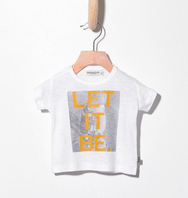 Woopeye abbigliamento per bambini, Neonato baby t-shirt let it be imps&elfs #impsandelfs #letitbe #beatles   http://www.woopeye.com/shop-1125-let-it-be-t-shirt-.html
