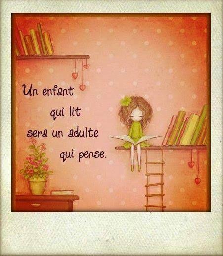 Une belle réflexion! - Des livres et des enfants