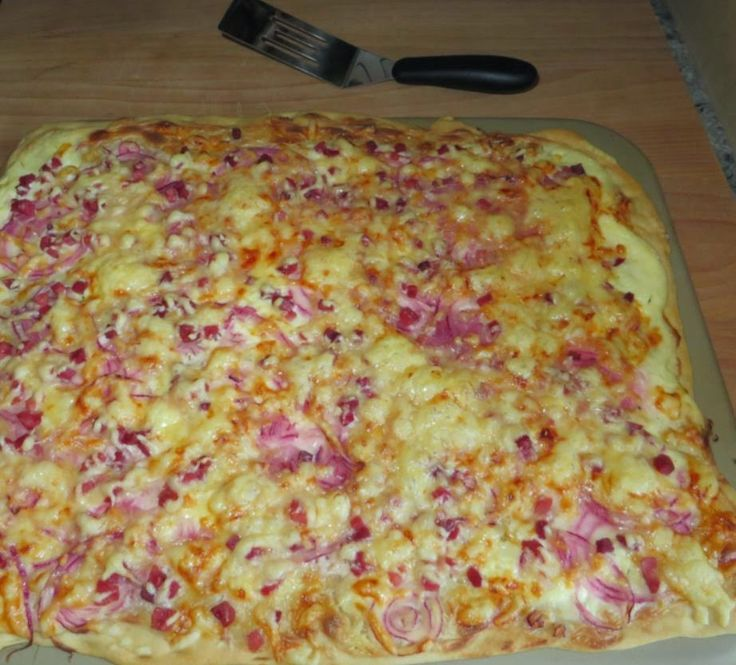 Flammkuchen so schnell - so lecker, The Pampered Chef