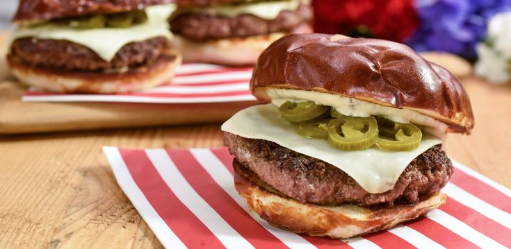 GYOB Griddle Burger with DijOli By Jeff Mauro
