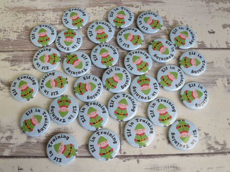 Elf in Training – one of our newest Christmas designs 🎄 – Cute Badges