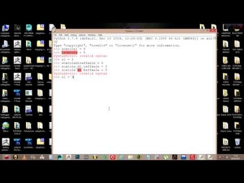 Tutorial Python  le basi lezione 2