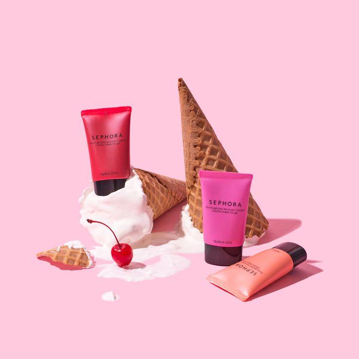 Cherry on Cheek / Violet Tinder Studios for Sephora