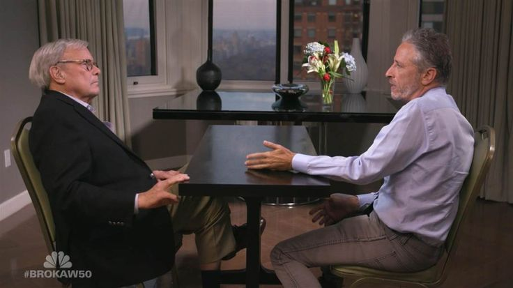 Tom Brokaw and Jon Stewart discuss the positive and negative aspects of the social media landscape. Hear more of their conversation during 'Tom Brokaw at NBC News: The First 50 Years' airing Sunday, January 29, at 9/8c on NBC.