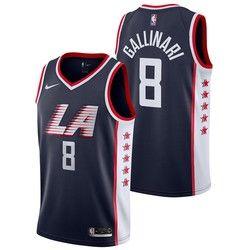 promo code 1afbc adb34 LA Clippers Nike City Edition Swingman Jersey - Danilo ...