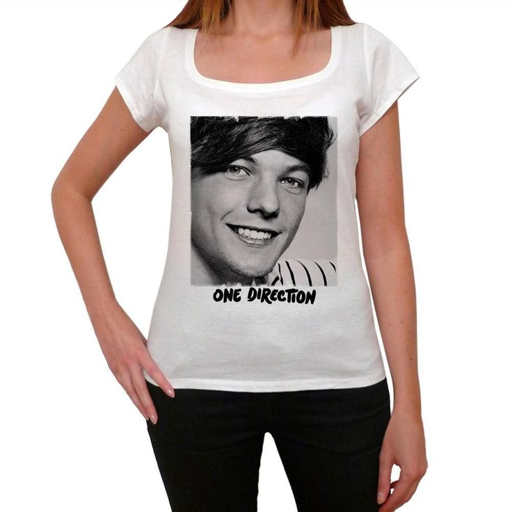 Louis Tomlinson One Direction 1D where we are tour Women's T-shirt picture celebrity