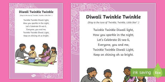 * NEW * Diwali Twinkle Twinkle Song