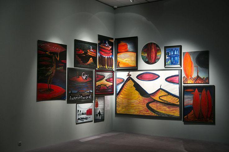 A nemzeti galéria El Kazovszkij életmű-kiállítása simán a legjobb dolog, ami itthon képzőművészetben történt.